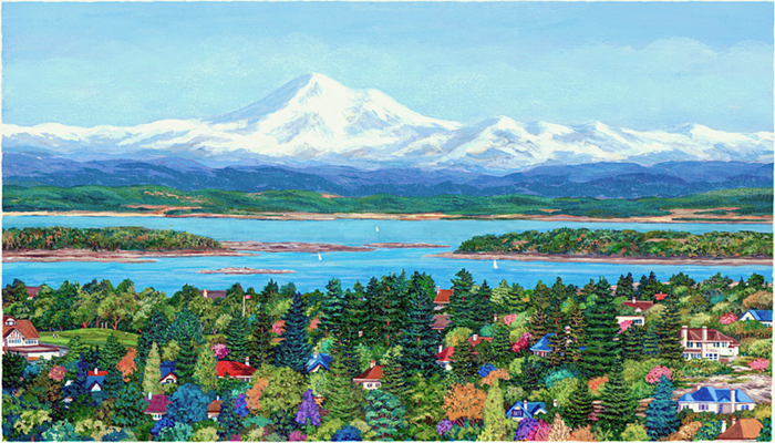 VIEW OF MOUNT BAKER Barbara Weaver-Bosson