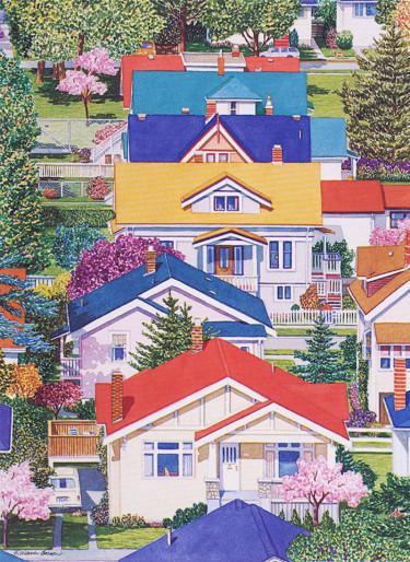 CLOSE TO HOME Art Card Barbara Weaver-Bosson